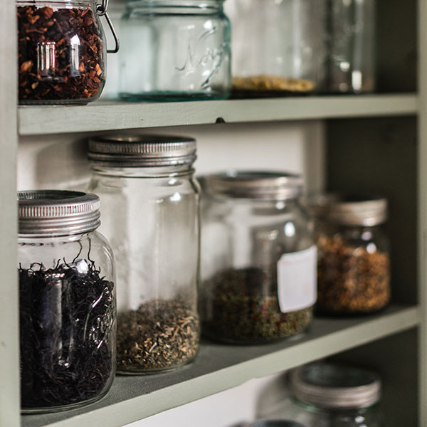 Larder, Store Cupboard Supplies and Treats made by hand