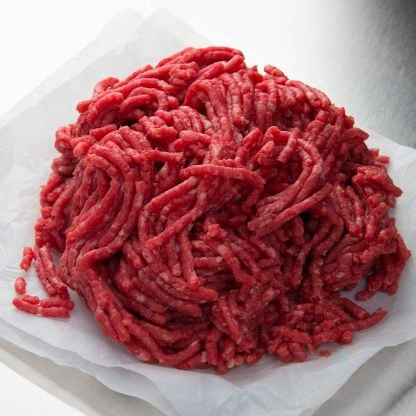 Minced beef