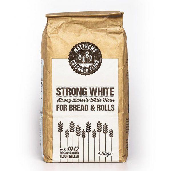 strong white flour