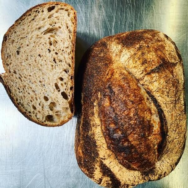 brown country sour dough