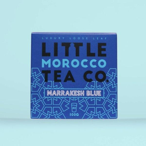 little morocco tea co marrakesh blue tea
