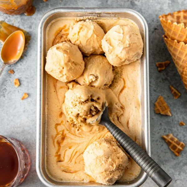 caramel icecream