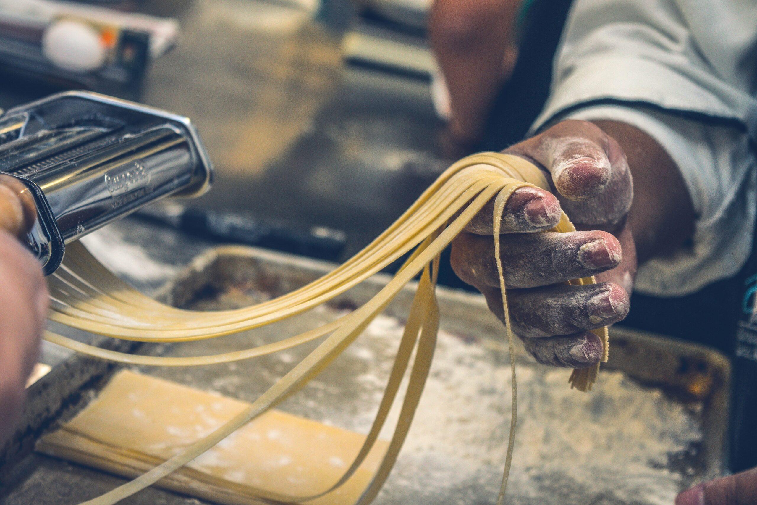 Fresh Pasta and Italian Food